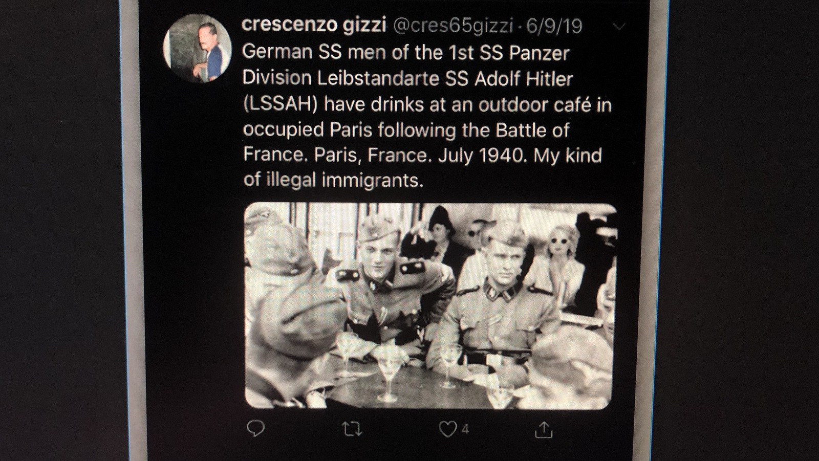 Posted on June 9 on @cres65gizzi.