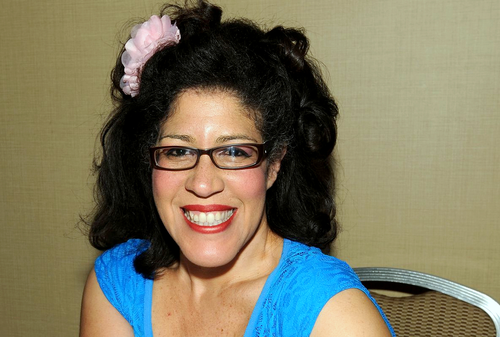 Rain Pryor attends the Chiller Theatre Expo in Parsippany, N.J., in 2016. (Wireimage)