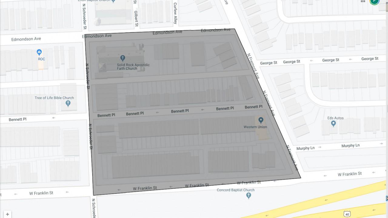 Harlem Park Lockdown Area - Google My Maps - Mozilla Firefox 11262019 100504 AM