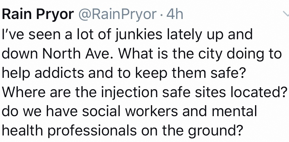 pryor junkies tweet