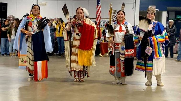 Performers at the Baltimore American Indian Center's 2019 Pow Wow. (Facebook)