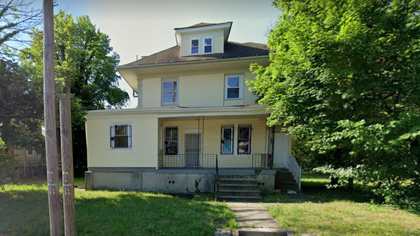 WAZ Management bought this single family home in West Baktyimore for $30,000 and sold it for $170,000 claiming it was a four-unit apartment building, a lawsuit says. (Google StreetView)