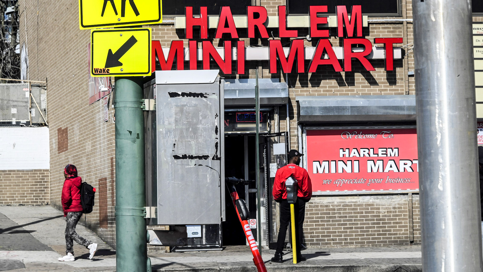 The Harlem Mini Mart on Pennsylvania Avenue sells rice, breakfast cereal and other staple items. (J.M. Giordano)