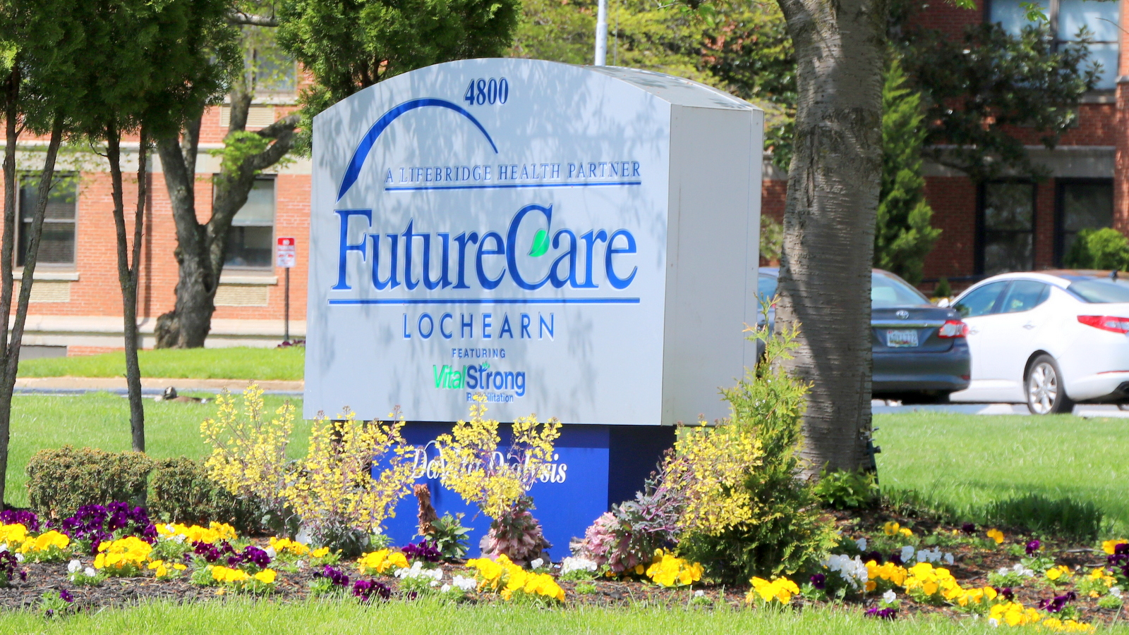FutureCare's Lochearn location where a major COVID-19 outbreak has been reported. (Louis Krauss)