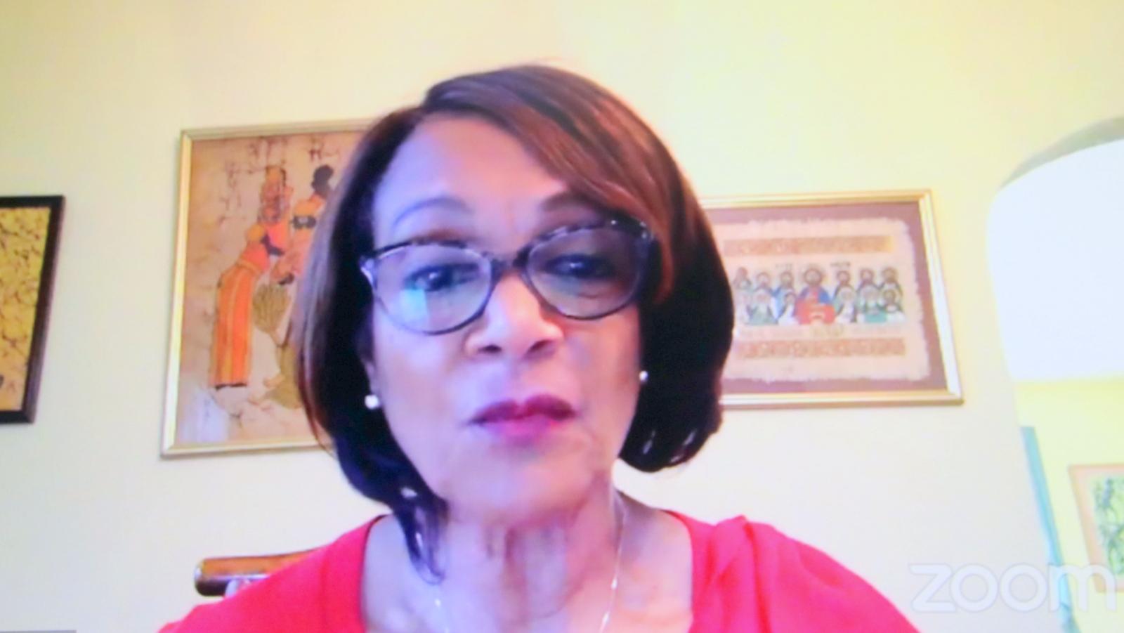 Former mayor Sheila Dixon. (Baltimore NAACP Facebook)