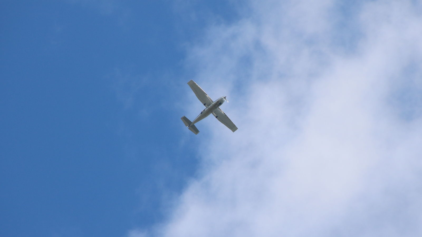 The Baltimore police department's aerial surveillance plane has become a familiar sight and, many say, an annoying, persistent sound. (Louis Krauss)