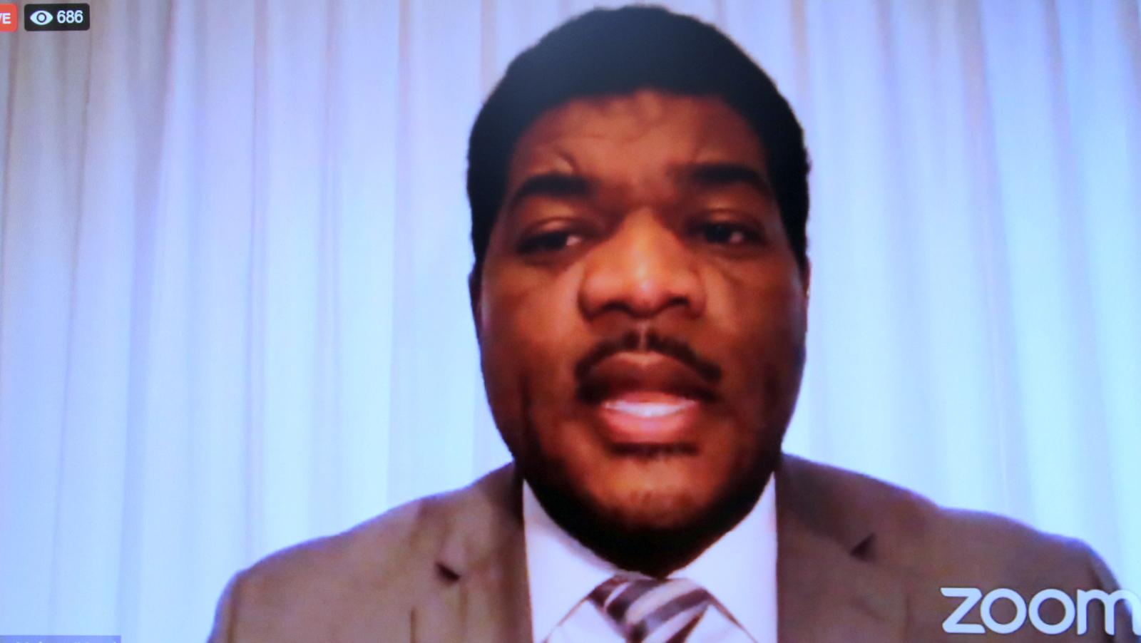 Former Baltimore police spokesman T.J. Smith. (Baltimore NAACP Facebook)