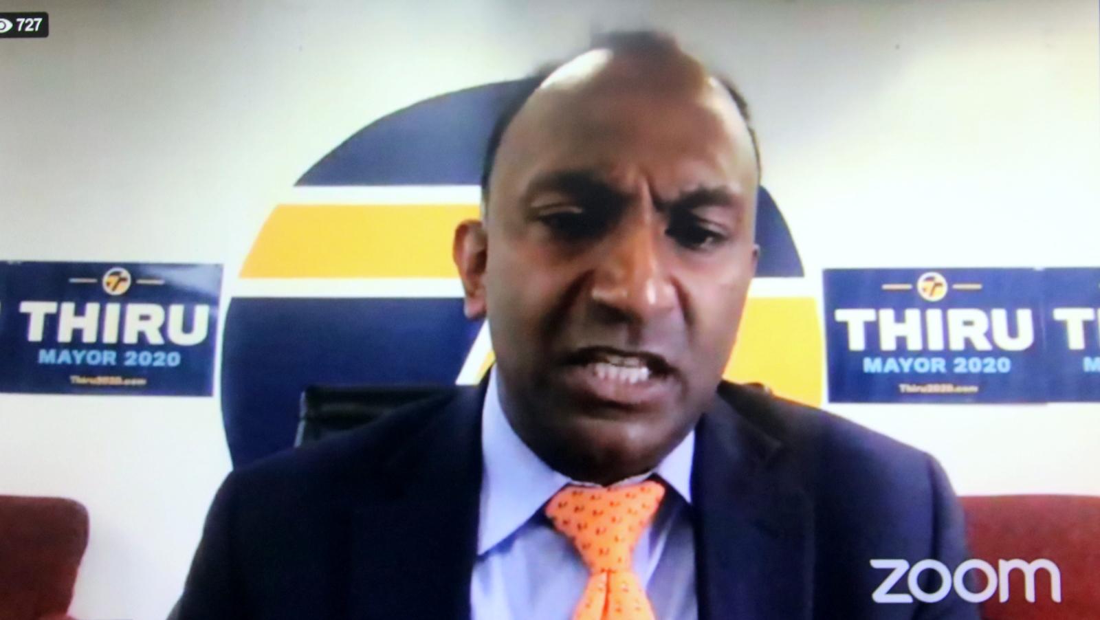 Baltimore mayoral candidate Thiru Vignarajah. (Baltimore NAACP Facebook)
