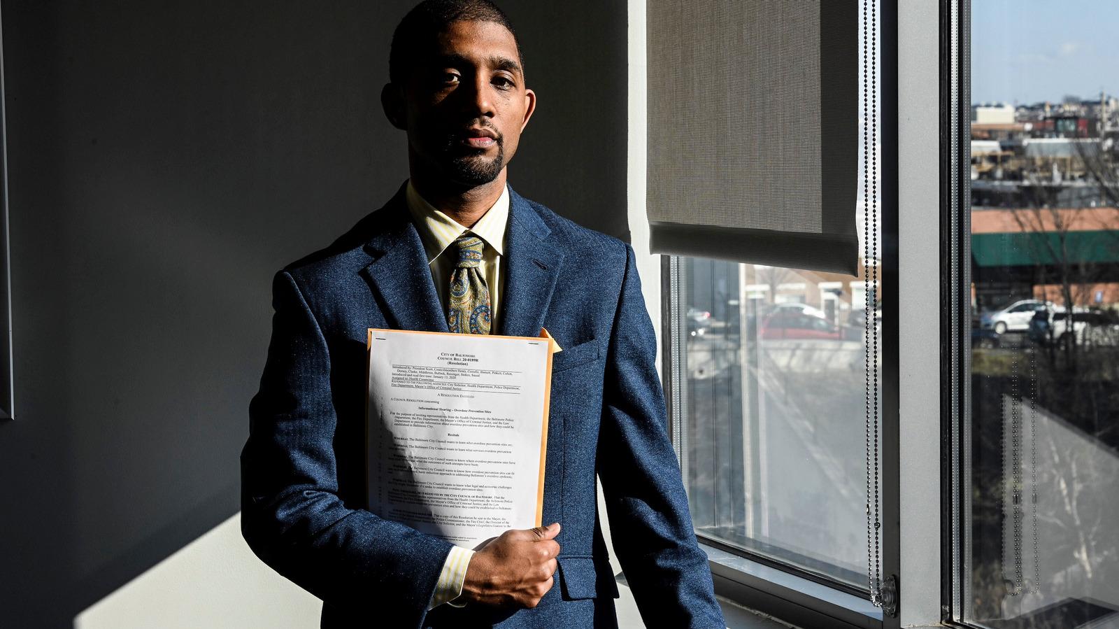 Brandon M. Scott photographed by J.M. Giordano.