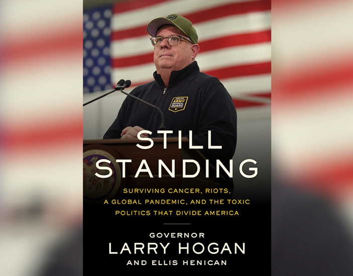 The cover of Hogan's new memoir, described by his publisher as a story of