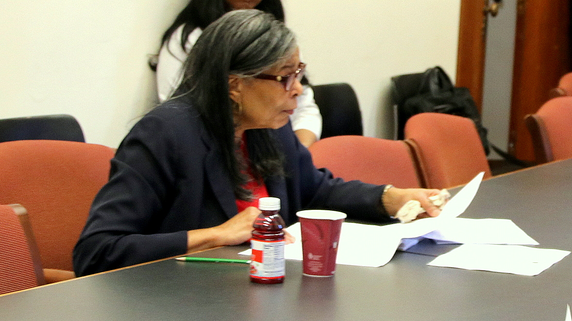Harriette Taylor served as Baltimore's deputy comptroller for 24 years before retiring in April. (Fern Shen)