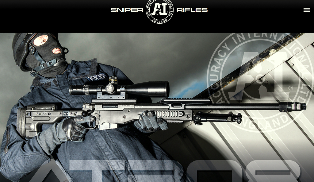 Baltimore Police's SWAT team is getting the latest-model Remington sniper rifle, produced by British arms maker Accuracy International, which displayed the model on its web page. (accuracyinternational.com)