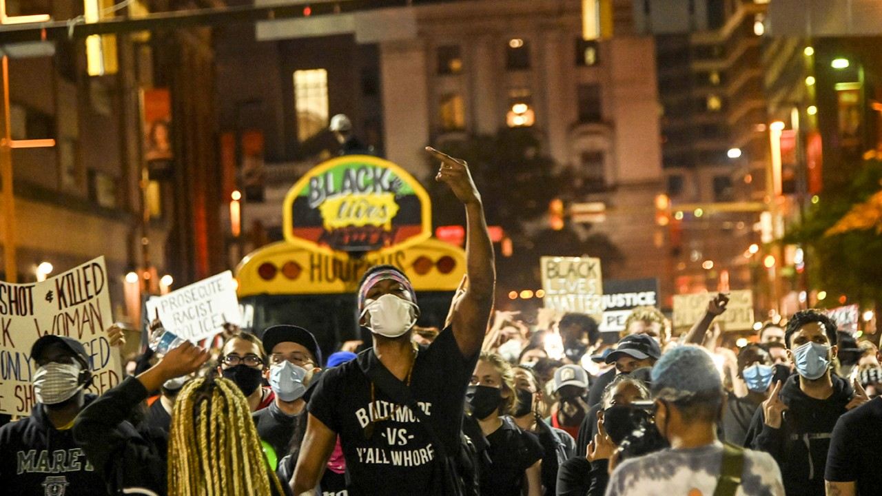 Baltimore protests after no police charged for the killing of Breonna Taylor | Baltimore Brew