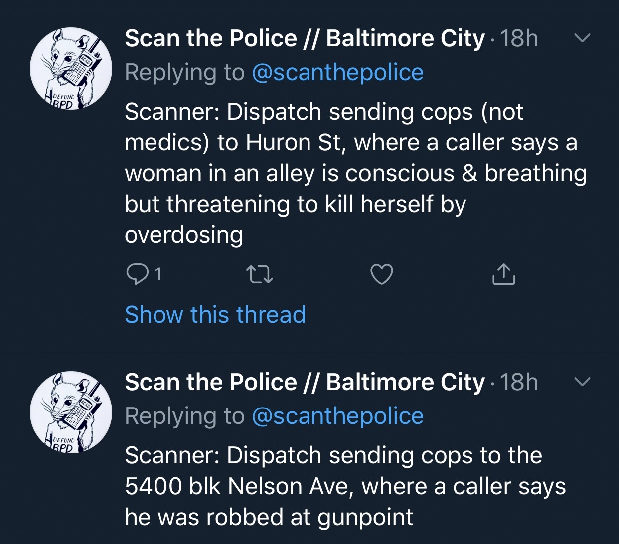 scan the police 7