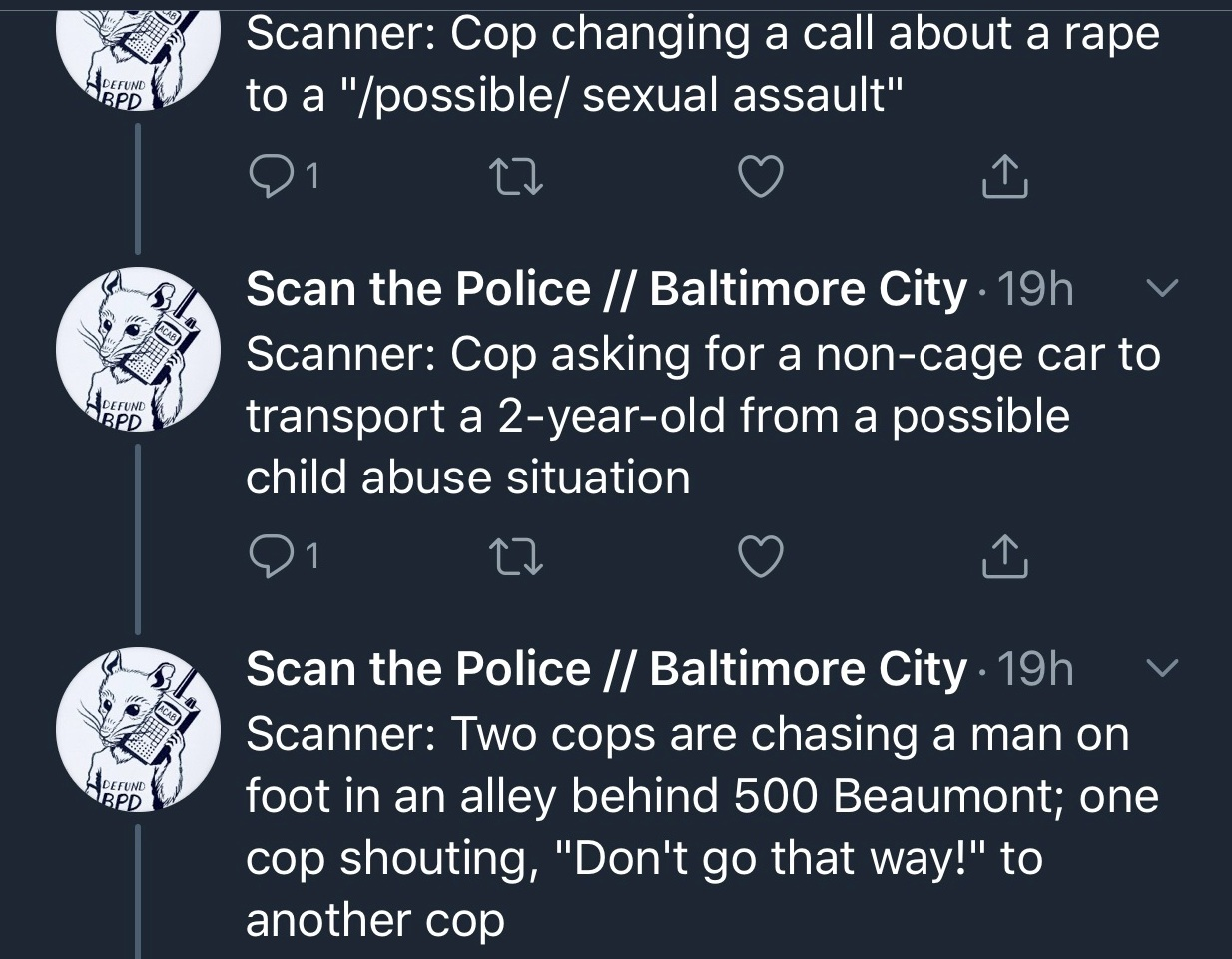 scan the police 8