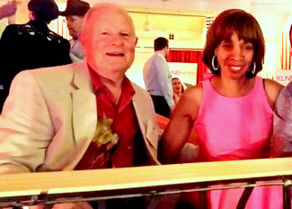 Jim Smith and Catherine Pugh attend the Maryland Party in Las Vegas a month after she won the 2016 Democratic Party primary. (Brew file photo)