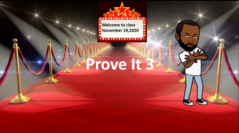 The online avatar used by a Baltimore high school student's math teacher. (Ja'sha Prince)