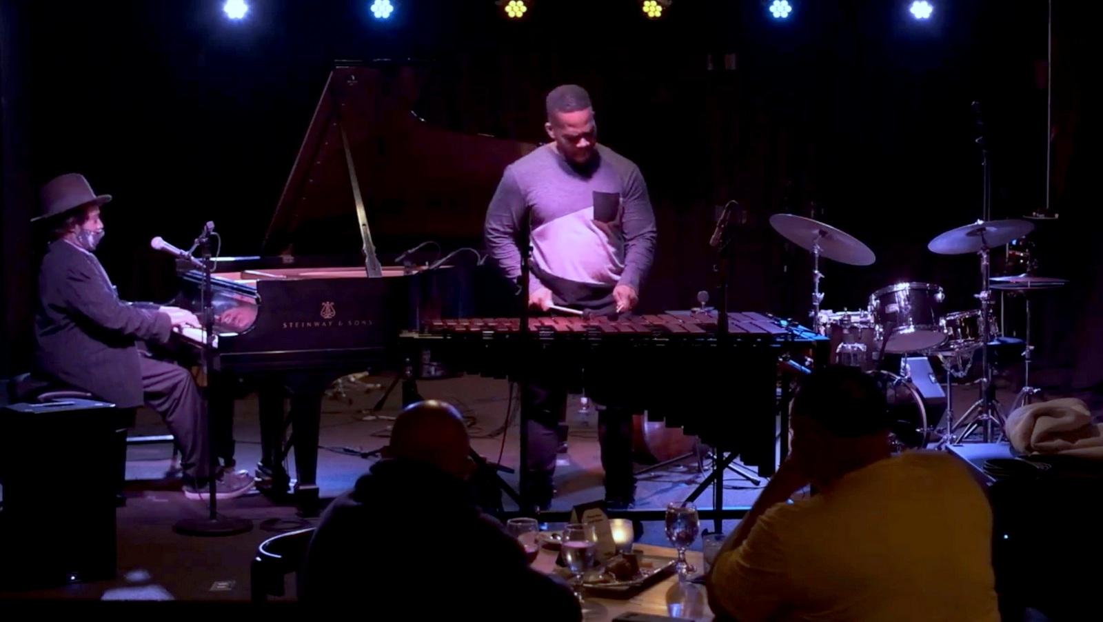 Warren Wolf performs at Keystone Korner in November before indoor dining in Baltimore was suspended. (YouTube)