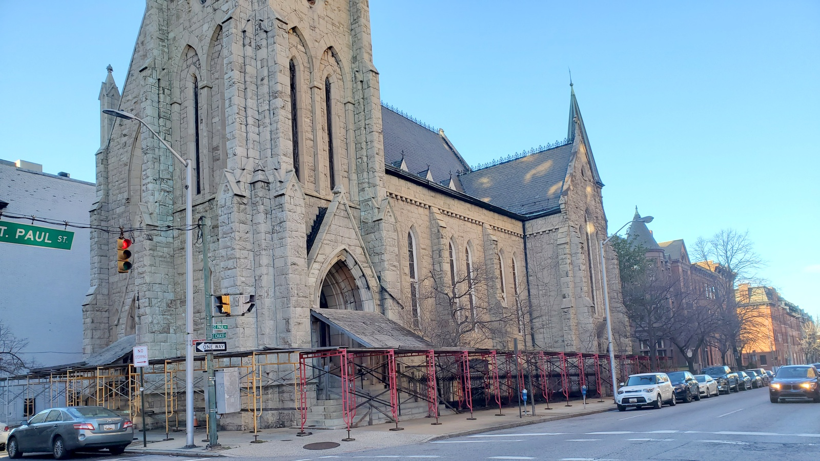 Baltimore's New Refuge Deliverance Church, purchased by Olivet Assembly USA which plans to rename it New Life Evangelical Church. (Ed Gunts)
