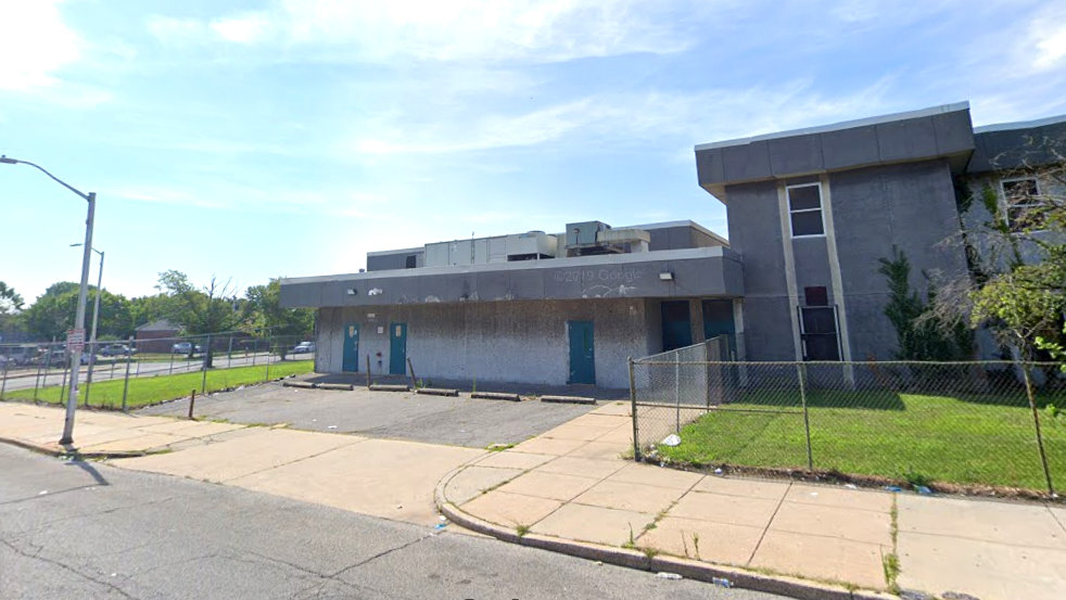 The Scott administration says the Pinderhughes building will not continue as an emergency homeless shelter. (Googleview)