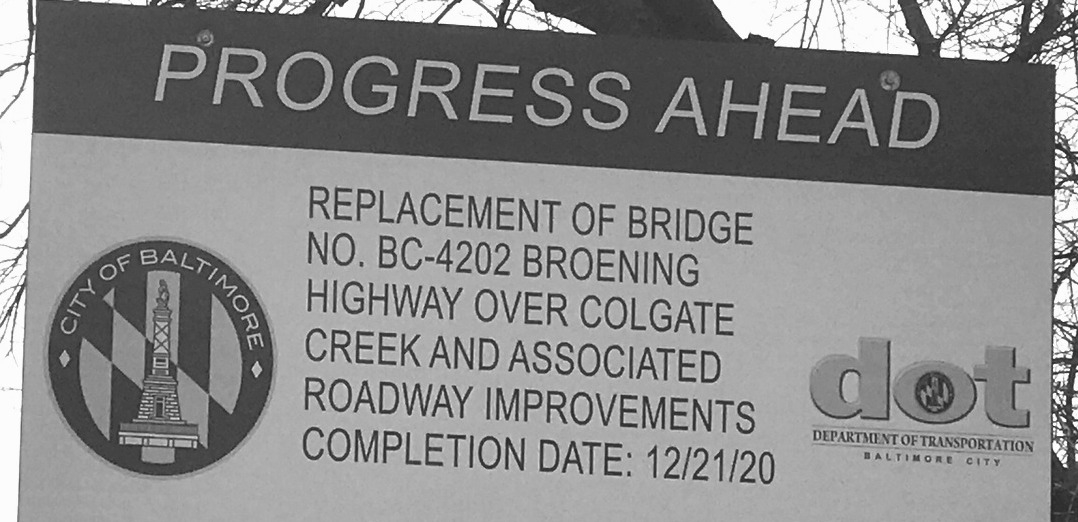 DOT proclaims that a bridge whose constructed hasn't started was completed on 12/21/20. (Mark Reutter)
