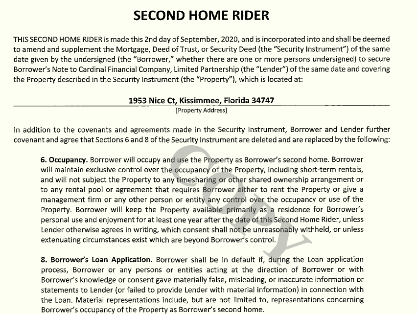 second home rider pg1