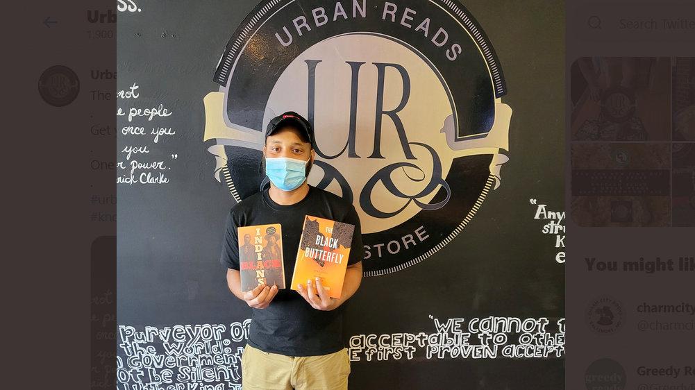 Already in the neighborhood, Urban Reads Bookstore & Cafe on Greenmount Avenue. (@urbanreadsbooks)