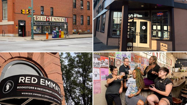 Past locations, tweeted in November 2019, on the occasion of Red Emma's 15th birthday (@redemmas)