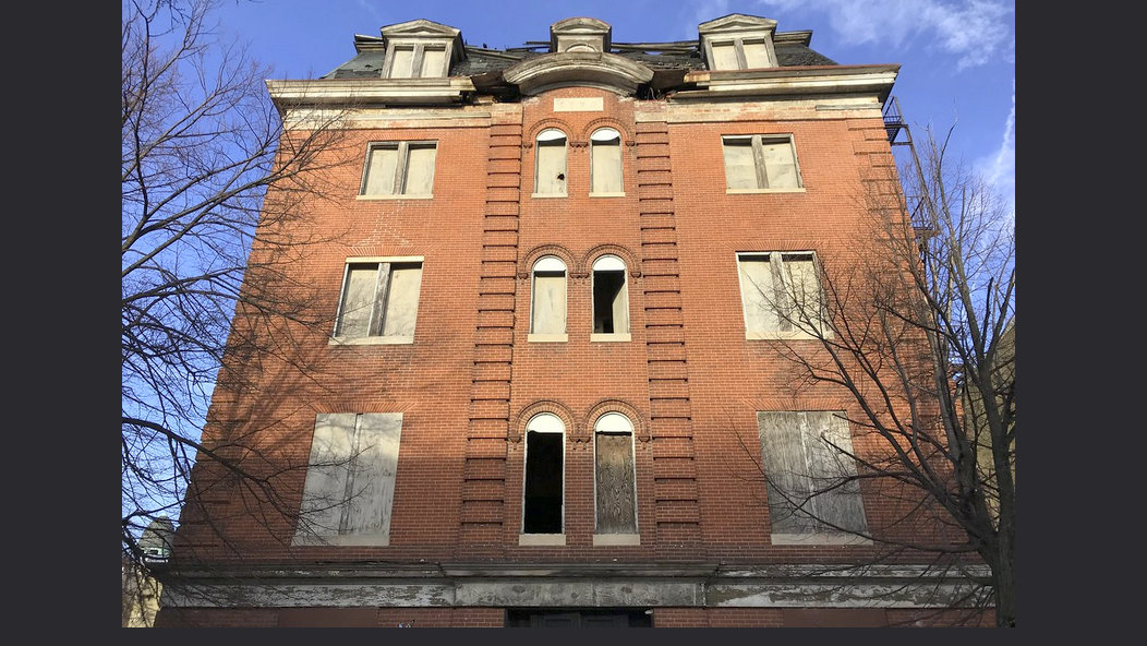 The former Home of the Friendless orphanage building in Baltimore's Marble Hill neighborhood, built in 1870. (Baltimore Heritage)