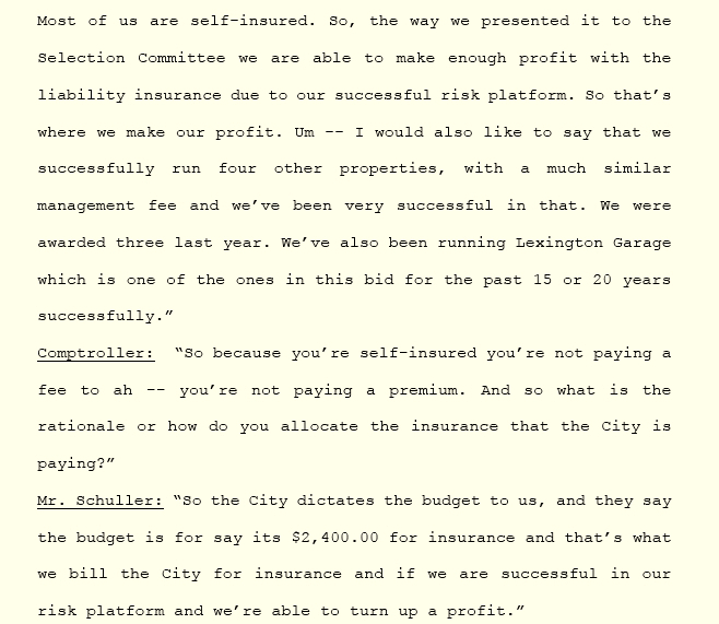 Description by CP Plus Regional Manager Alex Schuller about how the company can made a profit off of the contract, which was approved minutes later by the BOE. (Minutes of BOE meeting, June 5, 2019)