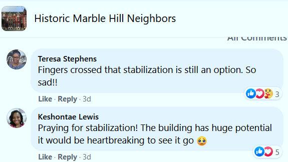 friendless home historic marble hill neigbors
