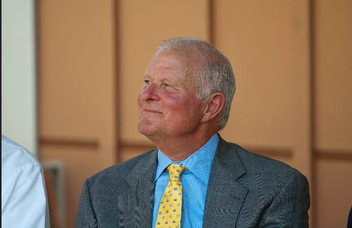 Jim Smith while Baltimore County executive in 2010. (Brew file photo)