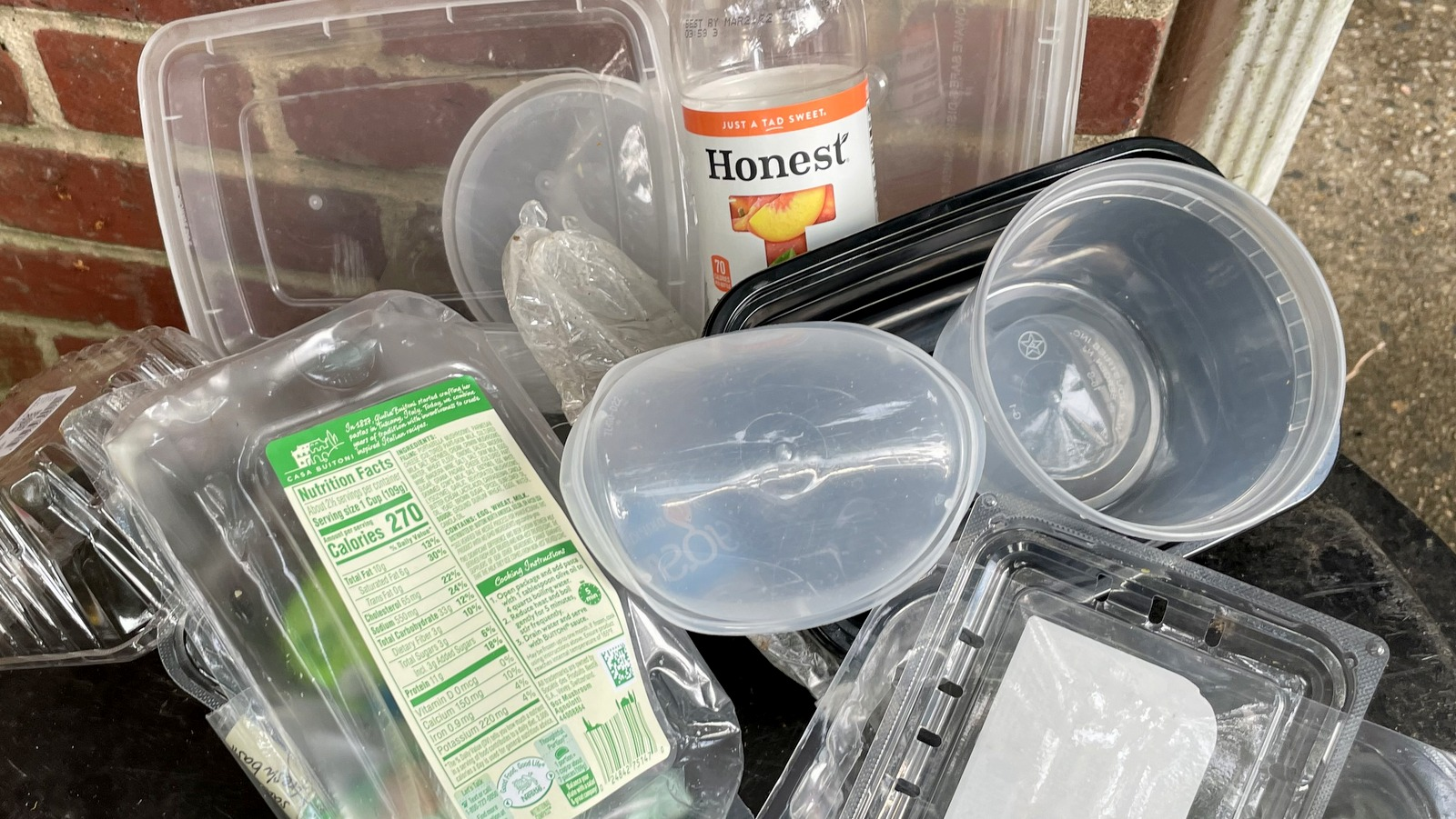A new study says in Baltimore on average 112 pounds of plastic are burned per person each year. (Fern Shen)