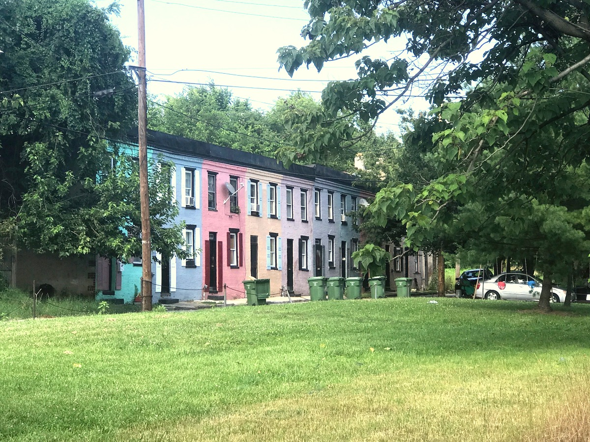 The 1100 block of Sarah Ann Street - kept tidy in front and rear. (Mark Reutter)
