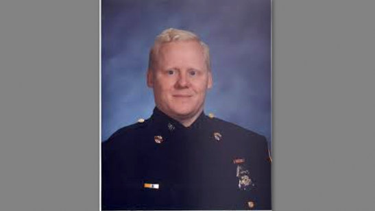 Edward T. Gorwell II as a young Baltimore Police officer. (egorwell.freeservers.com)