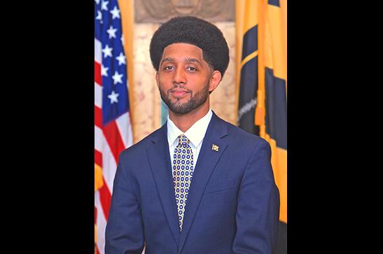 Official portrait of Brandon M. Scott. (mayor.baltimorecity.gov)
