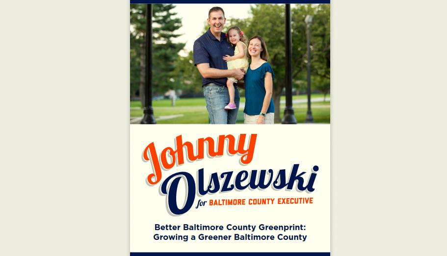 Johnny O greener baltimore county